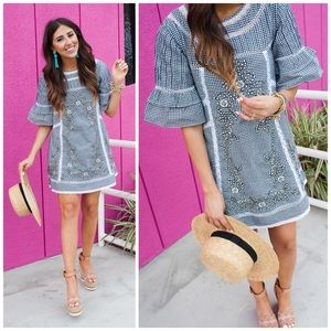 NEW Free People Sunny Day Gingham Dress